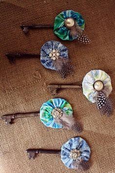 Bouts make from vintage keys.