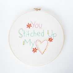 You Stitched Up My Heart by wildolive, via Flickr