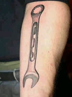 I want my little wrench tattoo already
