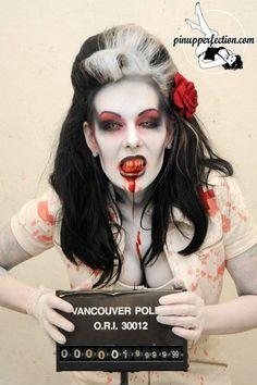 Zombie makeup #bebootiful #zombie