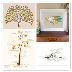 awesome family tree artwork ideas