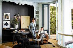Nate Berkus + Jeremy Brent Harper's Bazaar