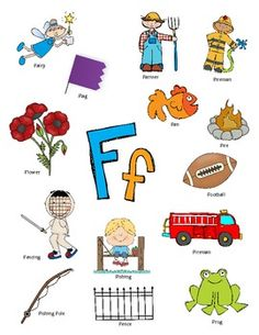letter f activities, letter f activity