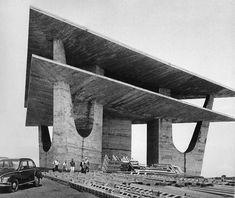 The Brasília TV Tower  by Oscar Niemeyer, 1967