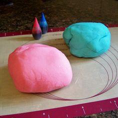 homemade play dough.