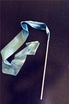 farewell ribbon wands