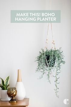 It's not macrame, it