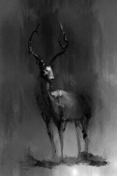 myth, anim, juhupaintingdeviantartcom, elkimagin, hannib, illustr, ink