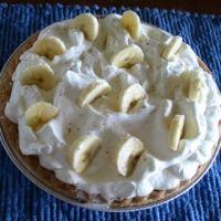 Banana Cream Pie No Bake Recipe.