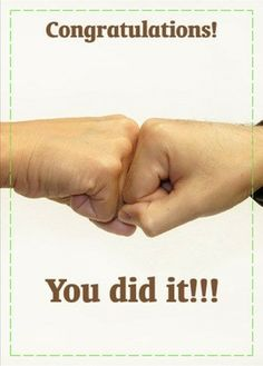 A real #congratulations card that can be #mailed out. This is a real card (not an e-card) shared from Sendcere.