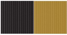 Anna Griffin - 12 x 12 Designer Stitched Paper Pack - Gold and Black at Scrapbook.com $0.90