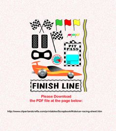racing scrapbook page ideas | puzzles nascar racing party ideas coolest kid birthday party ideas