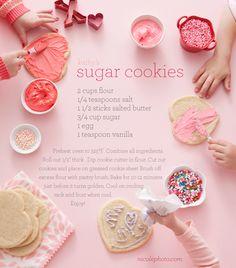 love this sugar cookie recipe by nicole gerulet