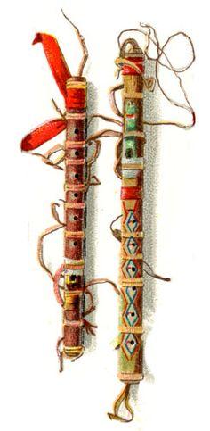 Native American Flutes: Flutes