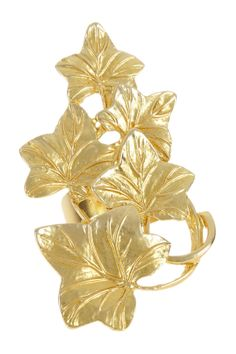 Leaves Statement Ring