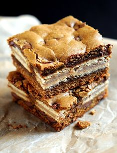 Milk Chocolate Chip Gingerbread Oreo Bars
