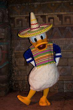 Donald Duck @ Epcot