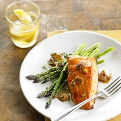 Maple-Bourbon Glazed Salmon From Better Homes and Gardens, ideas and improvement projects for your home and garden plus recipes and entertaining ideas.