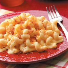 Saucy Mac'n'cheese