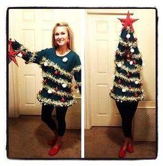 Tacky Christmas sweater @Sheena Birt Birt Harper