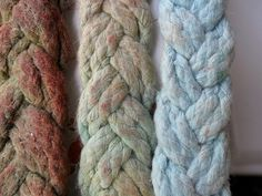 braided cotton - color test