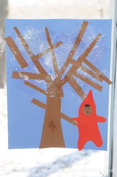 The Snowy Day art activity