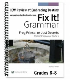 IEW Fix It! Grammar #hsreview #homeschool