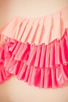 Ribbons and Ruffles...cute :)