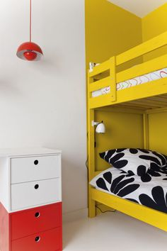 fun yellow bunk beds / milk magazine #kids