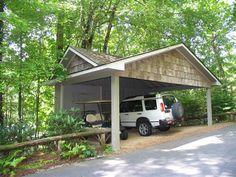 Carports garages on pinterest carport ideas carport for Carport with storage room