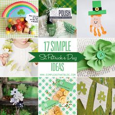 simple as that: Seventeen Simple St. Patrick's Day Ideas