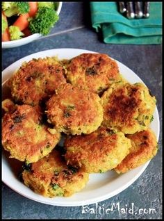 """North African Chicken Potato Patties from Mark Bittman's """"The Best Recipes in the World"""" via Baltic Maid. #food #Africa #recipe"""