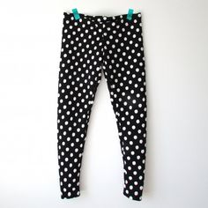 Sew up a pair of patterned leggings using your old favorite pair as the pattern guide!