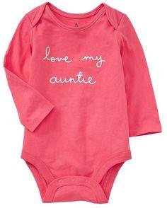 Very Cute 'Love my Auntie' Shirt http://rstyle.me/n/etqxbr9te