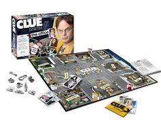 Clue The Office Edition. Oh my word, not even kidding, I have to have this! My favorite game and my favorite show rolled into one. Please someone put this on their Christmas list for me!!!!!!!