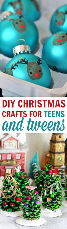 Today I'll be showing you a bunch of DIY Christmas Crafts For Teens and Tweens perfect to kick off winter and get you and your family in the holiday spirit. They're all fun and simple to make. #christmas #diychristmas #holidays #diyholidayideas #diychristmasideas #diychristmasdecor #diychristmasgiftideas #christmascrafts #christmaskidcrafts #diygiftideas #christmasdiy #christmascrafts #diychristmasideas