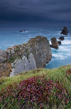 Acantilados de Arnía #Cantabria #Spain #Travel #Coast