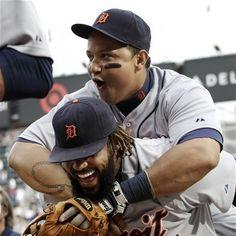 cutest couple in baseball.