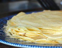 Basic Homemade Crepes (How to make crepes)