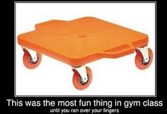This made gym class FUN!