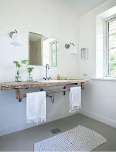 very rustic sink
