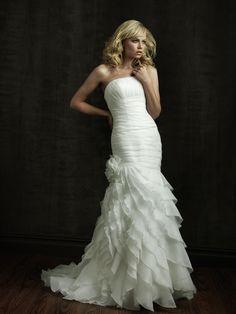 wedding dress- Allure