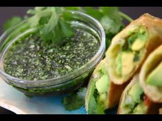 avocado eggroll