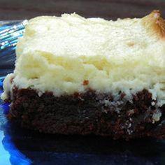 Yummy Cheesecake brownies
