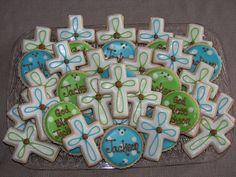 party favors, baptism favors, 1st communion cookies, party treats, first communion