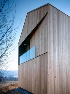 *architecture, modern design, exterior wood siding* - House in Lety / studio