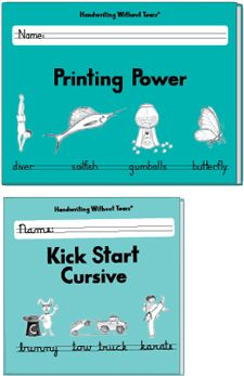 All Products - Printing Power Plus | Handwriting Without Tears  Perfect the print, then intro cursive.