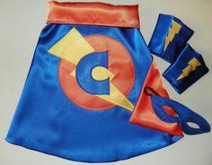 Superhero cape set Super Hero Cape Toddler Baby Cape by Woodfrock