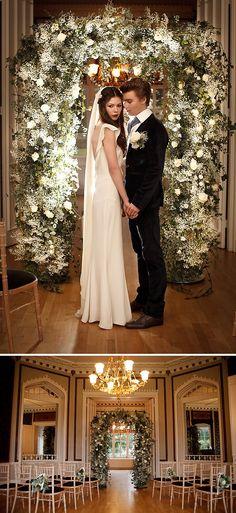 Twilight-esque wedding