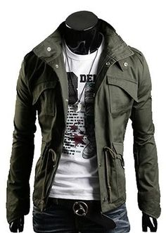 Men's Style -The Jumper Olive. My hubby could rock this. <3